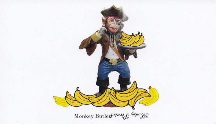 The Monkey Butler Card